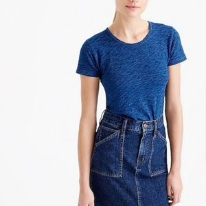 J. Crew Indigo Painter Tee Short Sleeve T-shirt